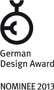 nominiert: german design award 2013