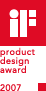 iF product design award 2007