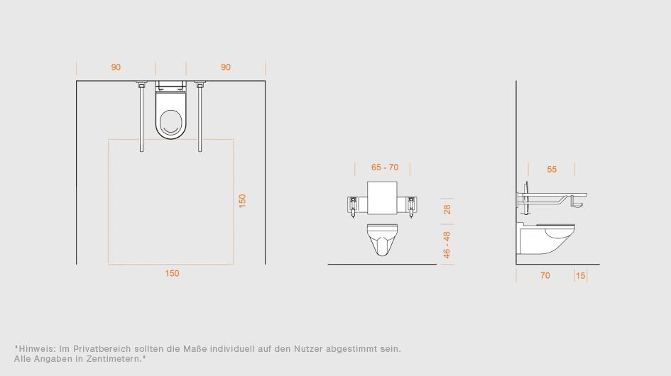 systeml sungen f r bad und sanit rr ume von hewi barrierefrei hewi. Black Bedroom Furniture Sets. Home Design Ideas
