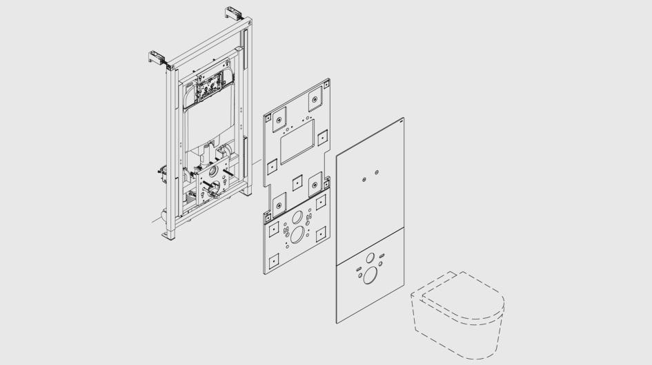 hauteur wc handicap suspendu salle de bain handicap plan meilleur de hauteur wc suspendu. Black Bedroom Furniture Sets. Home Design Ideas