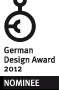 nomminiert: german design award 2012