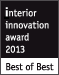 interior innovation award 2013 best of best