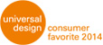 universal design award: consumer favorit 2014