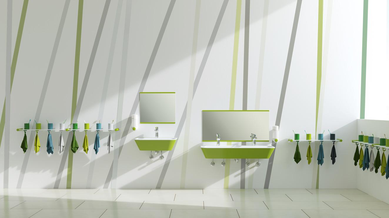 sanit rprodukte kindergarten hewi. Black Bedroom Furniture Sets. Home Design Ideas