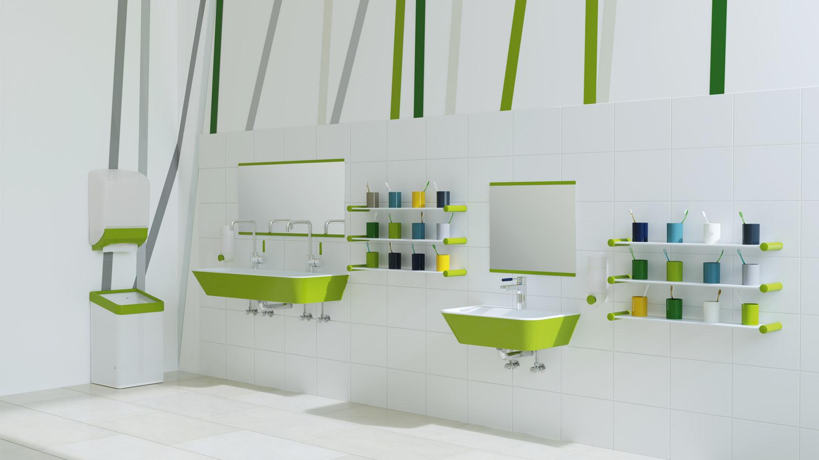 Sanitarprodukte Kindergarten Hewi