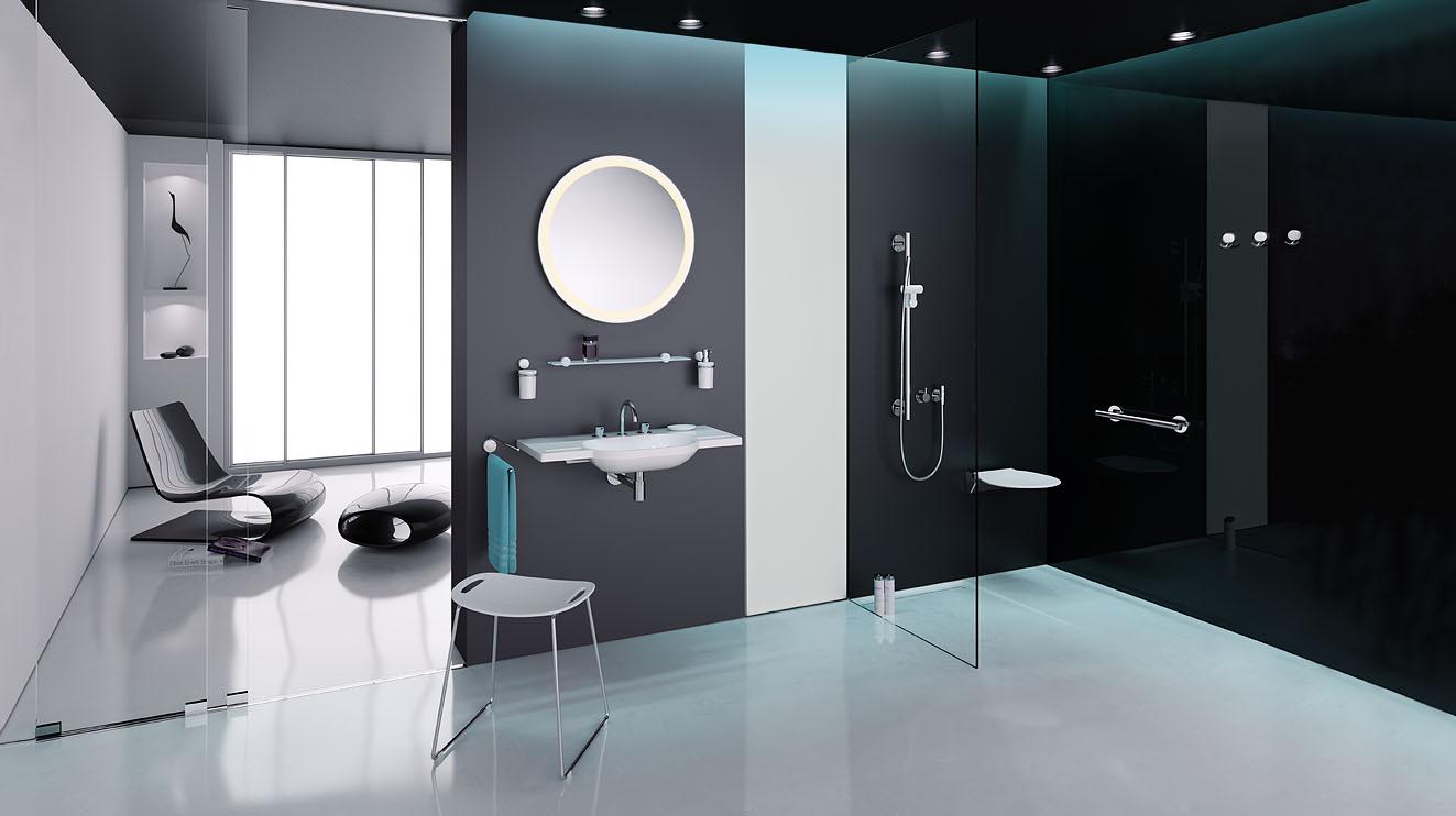Seifenspender Dusche Sanit?r : 815 Sanit?r Accessoires f?r Waschtisch, WC und Dusche HEWI