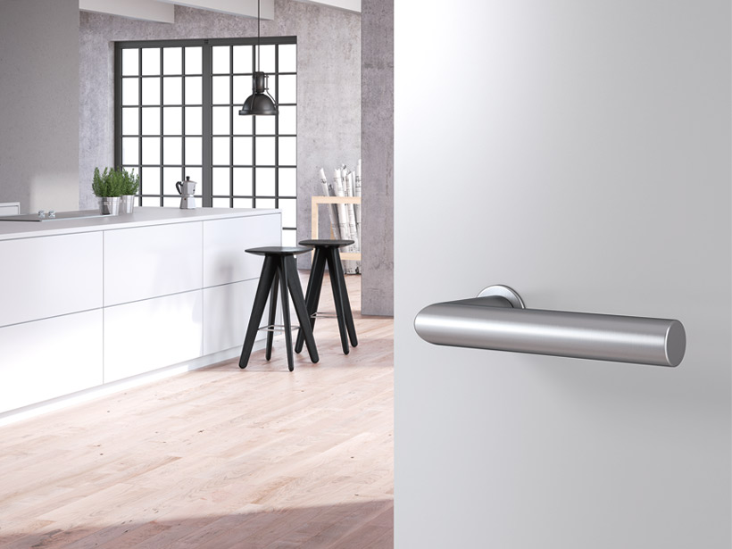 mini, minimalism, lever handle, stainless steel