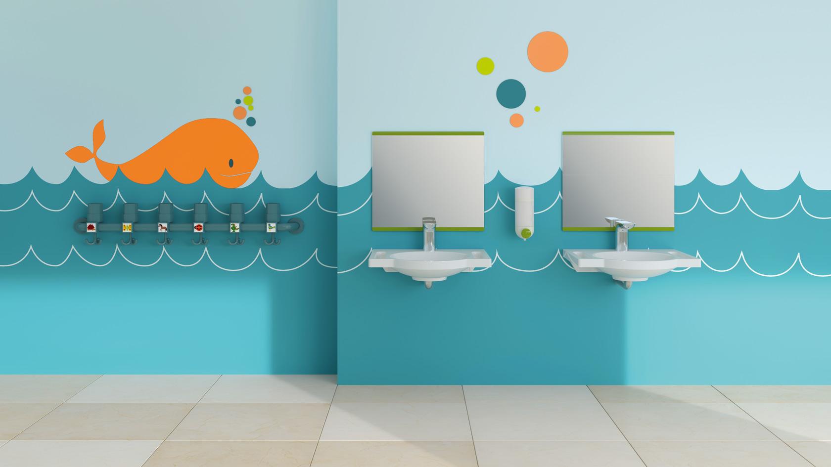 Sanitärprodukte Kindergarten   HEWI