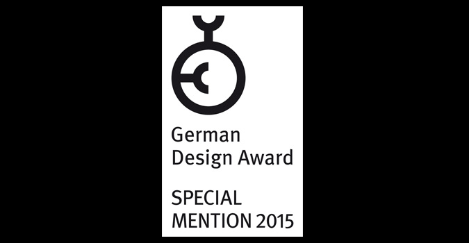 Prijsuitreiking German Design Award