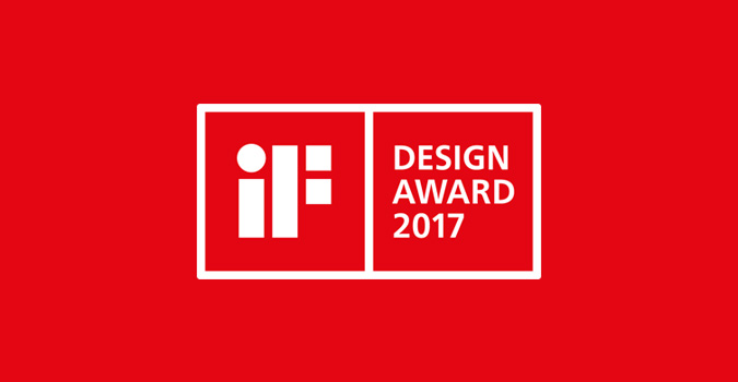 iF Award 2017 Excellent design HEWI
