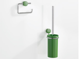 HEWI System 815, Toilet roll holder, Toilet brush