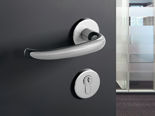 HEWI range 170 door lever handle stainless steel