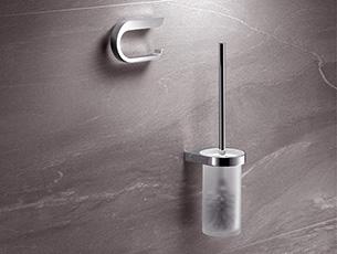 wc b rstengarnitur edelstahl wandmontage mi11 hitoiro. Black Bedroom Furniture Sets. Home Design Ideas