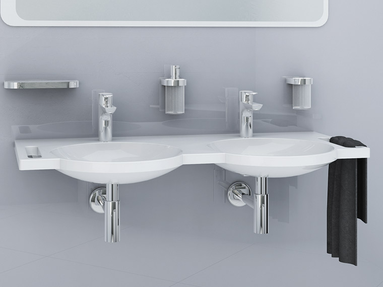hewi-lavabo-vasque-accessible-design-fonte minérale-double-lavabo