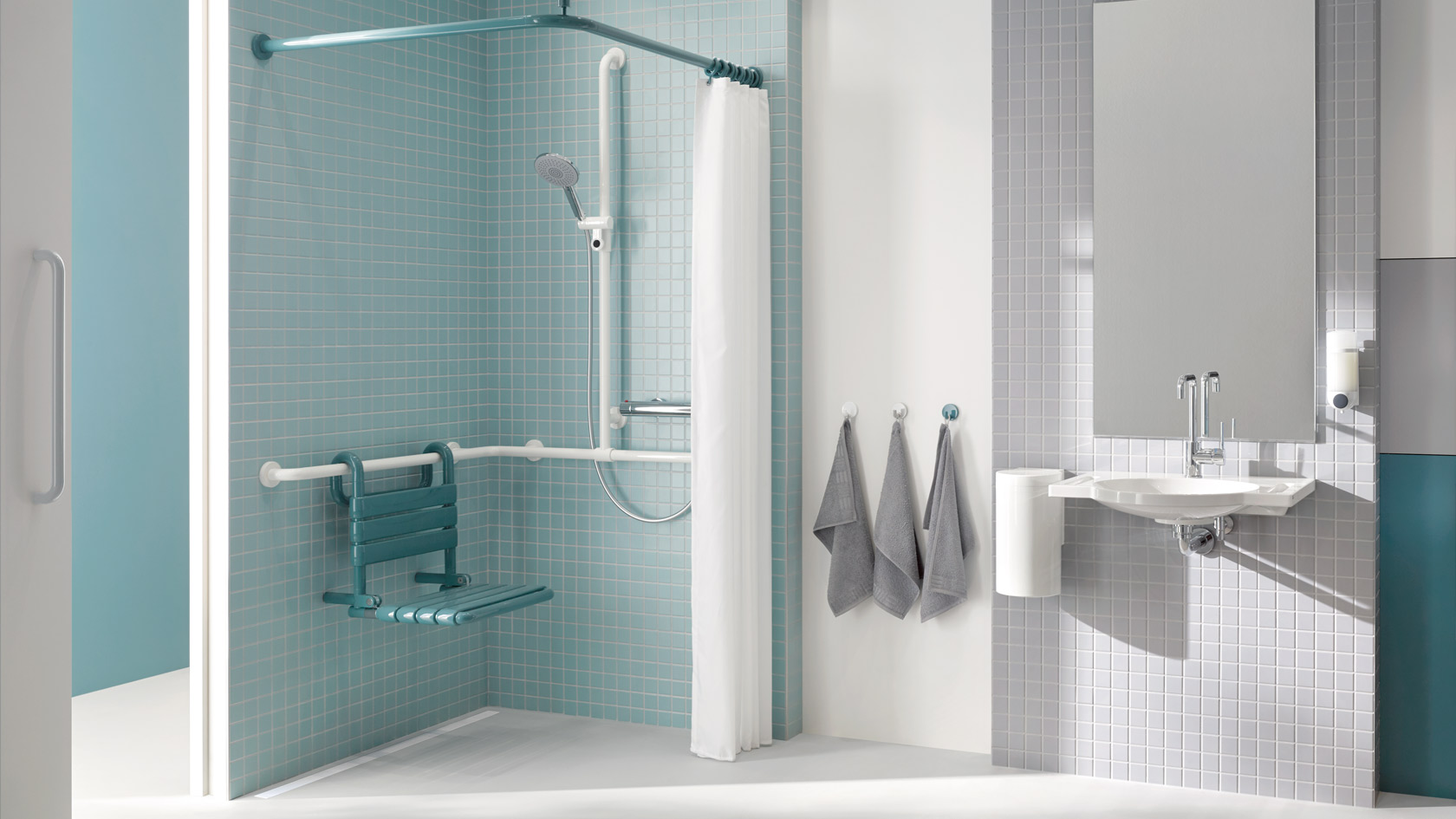 HEWI system solutions for bathrooms and sanitary rooms | Accessible ...