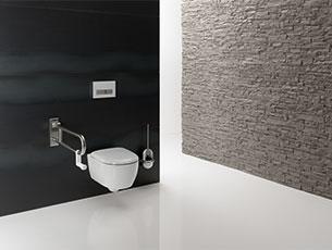 Wyposażenie łazienek Produkty Hewi