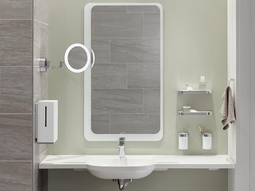 Sehr Spiegel & Kippspiegel von HEWI | Flexibel einsetzbar und sicher | HEWI OB34