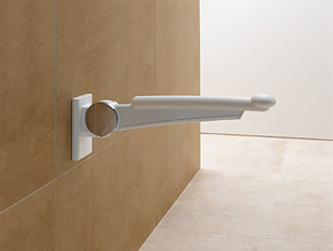 Hinged Support Rail